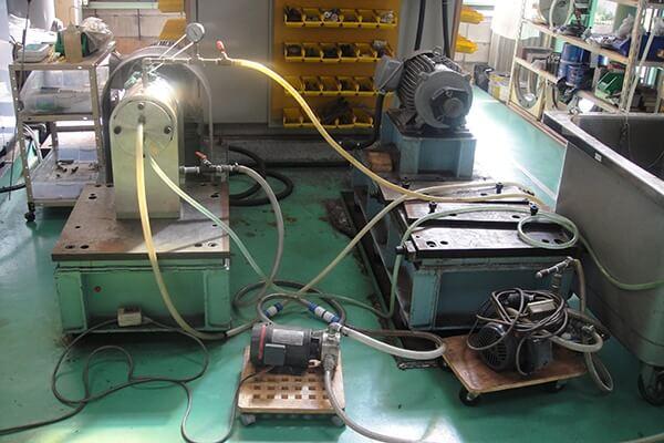メカニカルシール整備の実績:ロータリージョイント整備に関する画像