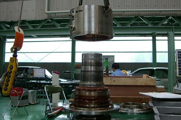 メカニカルシール整備の実績:シールユニット整備に関する画像