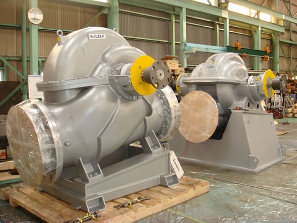 Main Maintenance and Service Details:Assembly of large pumps