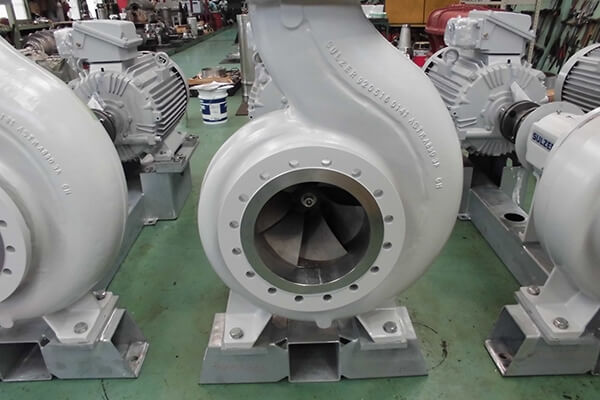 Record of Performance:Centering of single suction pumps