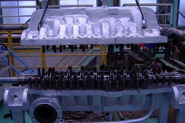 ポンプ整備の実績:高圧多段ポンプ整備に関する画像