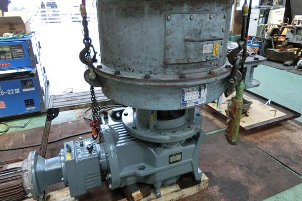 各種回転機械、他整備の実績:フィーダ整備に関する画像