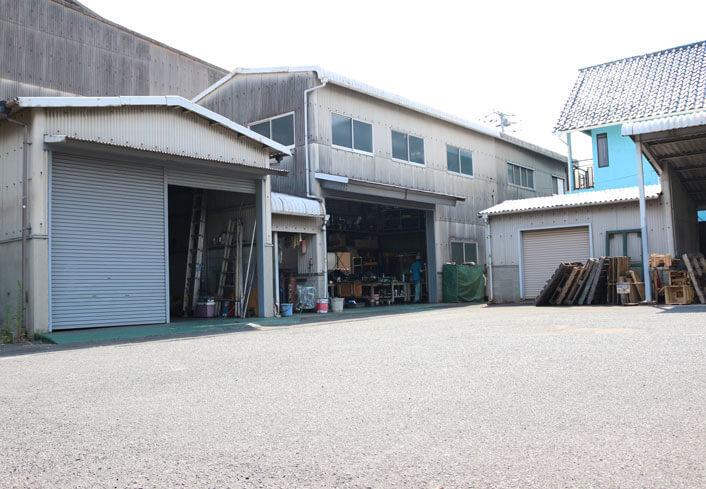 KBKエンジニアリング:東塚工場の外観