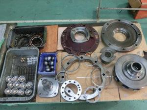 各種回転機械/他の整備:油圧モーターの整備に関する画像